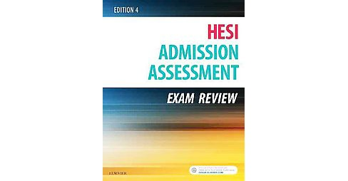 HESI Admission Assessment Exam Review (Paperback) - image 1 of 1