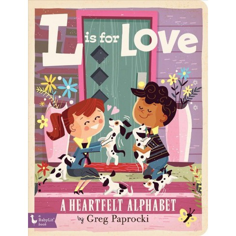 L Is for Love - (Board_book) - image 1 of 1