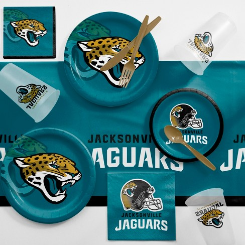 NFL Turquoise Jacksonville Jaguars Game Day Party Supplies Kit - image 1 of 1