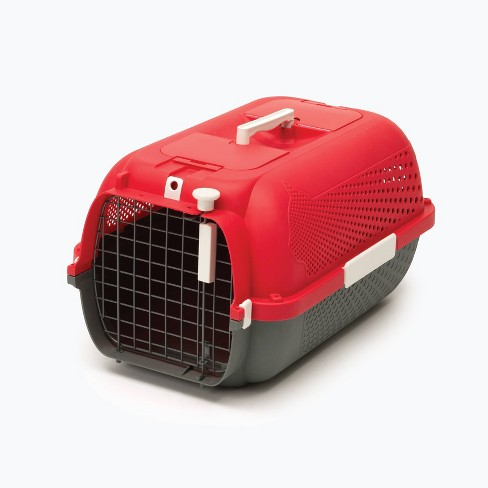 Catit Profile Voyageur Dog and Cat Carrier - M - Cherry Red - image 1 of 1