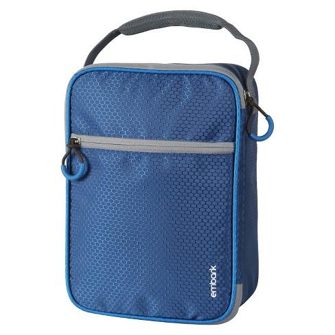 crush resistant lunch box blue embark target