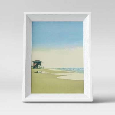 """5"""" x 7"""" Wedge Picture Frame White - Room Essentials™"""