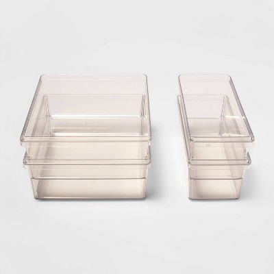 4pc Refrigerator Storage Bin Set - Made By Design™
