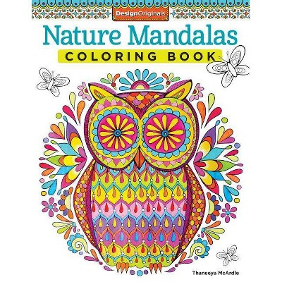 - Nature Mandalas Coloring Book - (Coloring Is Fun) By Thaneeya McArdle  (Paperback) : Target