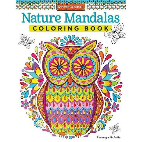 Nature Mandalas Coloring Book - (Coloring Is Fun) by Thaneeya McArdle  (Paperback)