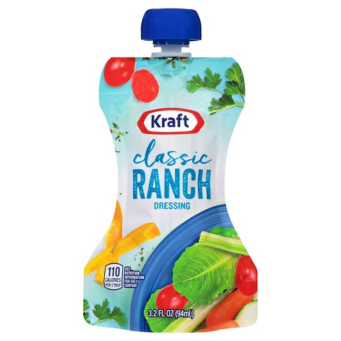 Kraft Classic Ranch Dressing - 3.2oz - image 1 of 1