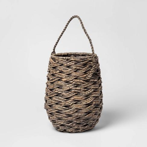 "Mini Round Decorative Basket 11.25""x8.75"" - Threshold™ - image 1 of 1"