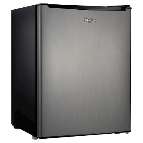 Whirlpool 2.7 cu ft Mini Refrigerator - Stainless Steel BC-75A - image 1 of 5