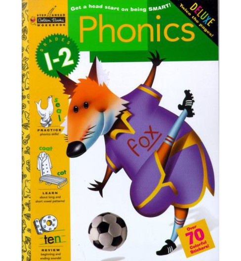 Phonics ( Step Ahead Plus Workbooks) (Paperback) - image 1 of 1