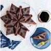"""Frozen 2 11"""" x 9.6"""" x 2.3"""" Metal Snowflake Cake Pan Blue - Nordic Ware - image 2 of 4"""