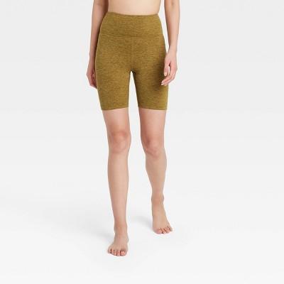 "Women's High-Rise Brushed Jersey Bike Shorts 7"" - JoyLab™"