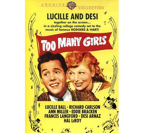Too Many Girls (DVD) - image 1 of 1