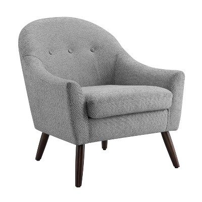 Clenna Accent Chair Gray - Linon