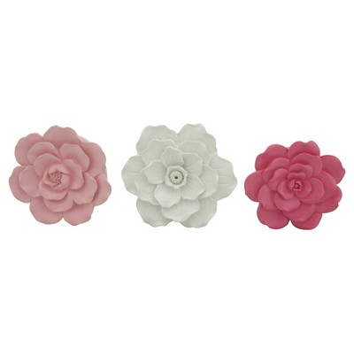 3 Pack Flower Wall Décor - Pillowfort™