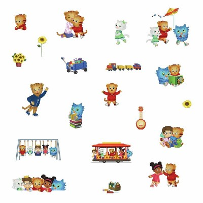 Daniel Tiger Peel and Stick Wall Decals - RoomMates