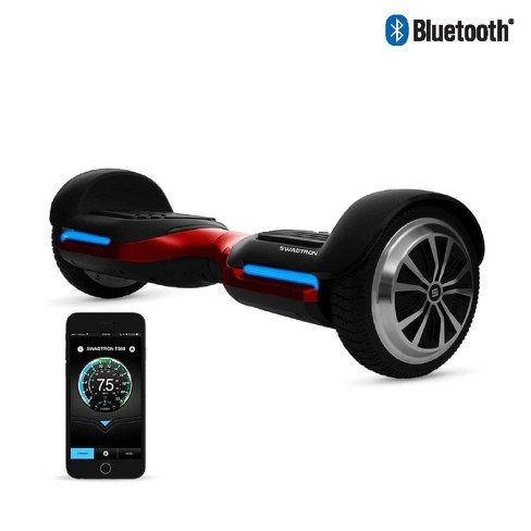 Swagtron T580 Hoverboard with Bluetooth Speakers - Red - image 1 of 10
