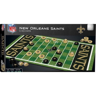 MasterPieces NFL New Orleans Saints Checkers Board Game