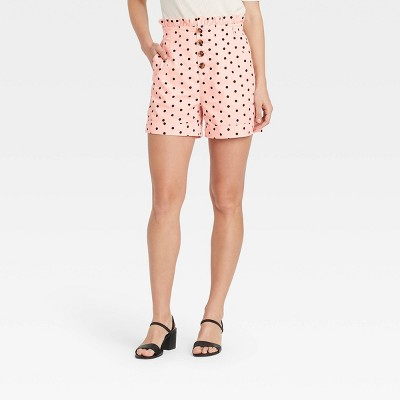 Women's High-Waisted Shorts - Who What Wear™