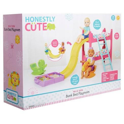 Honestly Cute My Lil Baby Bunk Bed Playroom Target