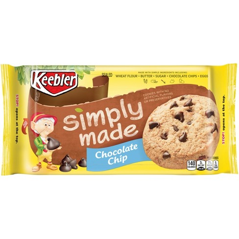 Simply Made Chocolate Chip Cookies - 10oz - Keebler - image 1 of 7