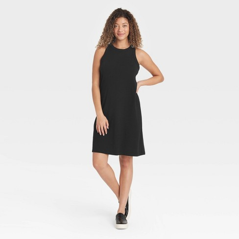 Women's Knit Tank Dress - A New Day™ - image 1 of 3