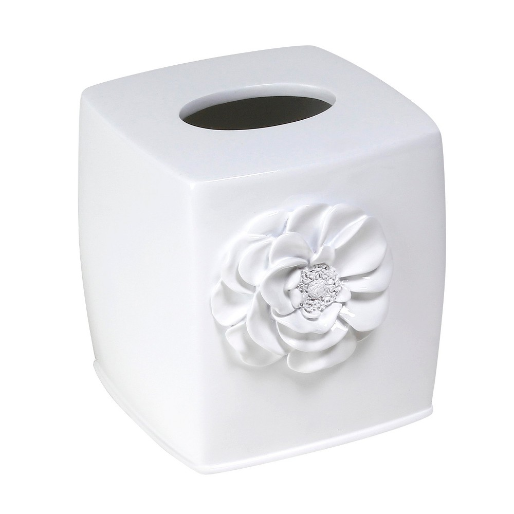 Image of Tissue Box Cover Saturday Knight Ltd. White