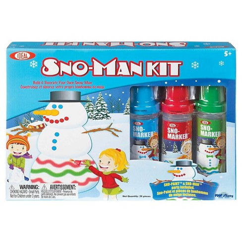 Ideal Sno Toys Sno Marker Sno-Man Kit - image 1 of 1