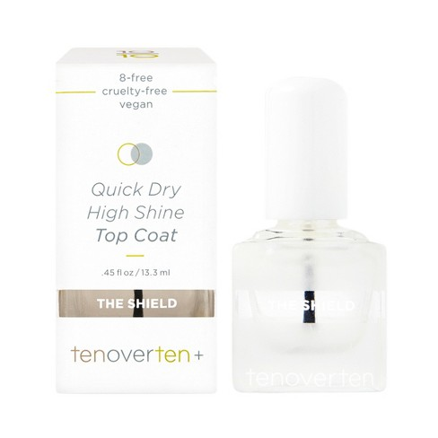 tenoverten The Shield High Shine Protective Top Coat - 0.45 fl oz - image 1 of 3