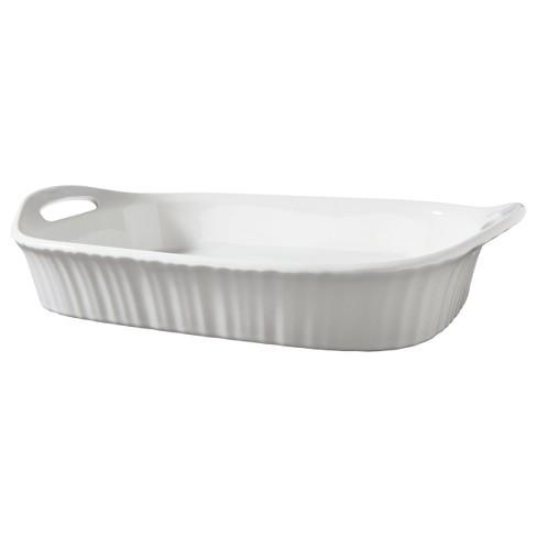 CorningWare 3qt Oblong Bakeware White - image 1 of 2