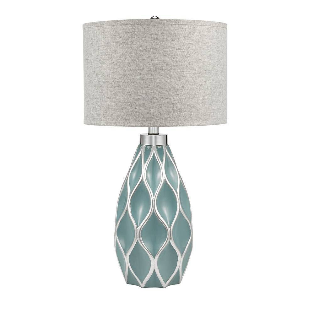 Mayberry Table Lamp Blue (Lamp Only) - Cresswell Lighting