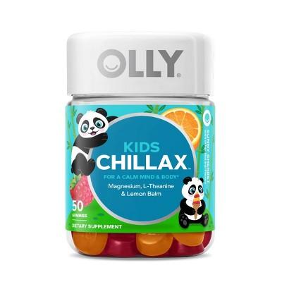 Olly Kids Chillax Gummy Supplement - Sunny Sherbet - 50ct