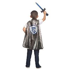 Little Adventures Boys' Adventure Knight Cape and Sword Set, Men's