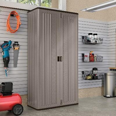 Suncast Mega Tall Utility Storage Cabinet : Target