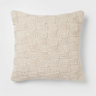 Oversized Chunky Knit Throw Pillow - Threshold™