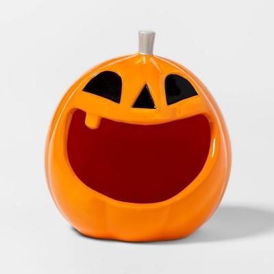 Pumpkin Ceramic Halloween Candy Bowl - Hyde & EEK! Boutique™