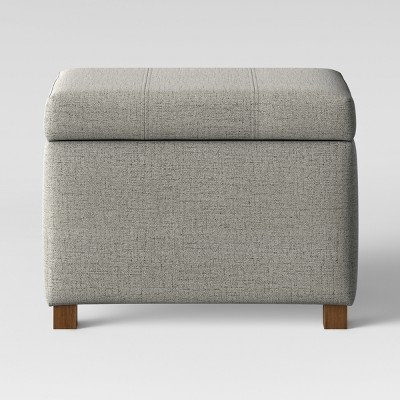 Essex Storage Ottoman Gray - Threshold™