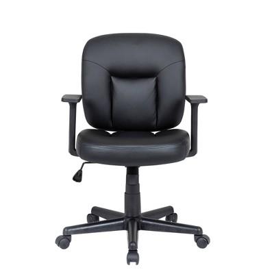 Mid Back Task Chair Black - Global Furniture