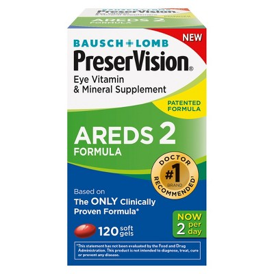 Multivitamins: PreserVision AREDS 2