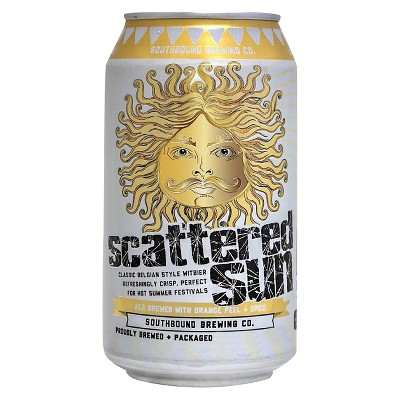 Southbound Scattered Sun Belgian Wit Beer - 6pk/12 fl oz Cans