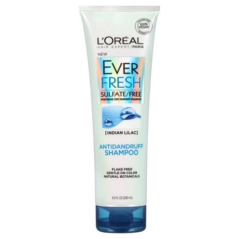 l oreal paris everfresh sulfate free antidandruff shampoo 8 5 fl