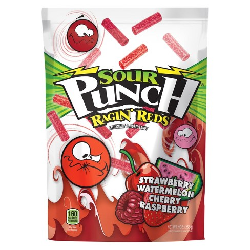 Sour Punch Ragin' Reds Licorice Candy - 9oz - image 1 of 1