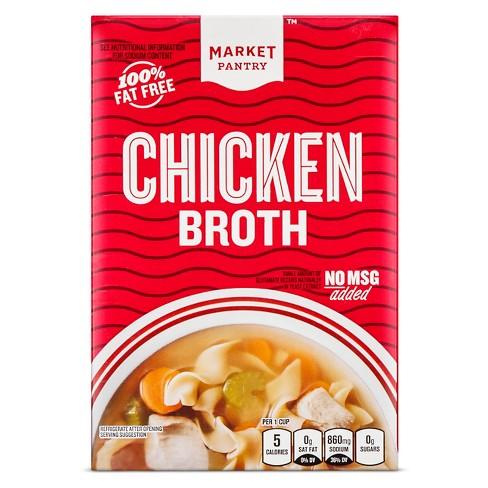 Chicken Broth 48 oz - Market Pantry™ - image 1 of 1