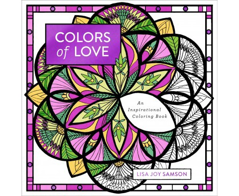 Colors Of Love An Inspirational Coloring Book Target