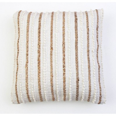KLOVEN Cotton Pillow Ivory - Décor Therapy