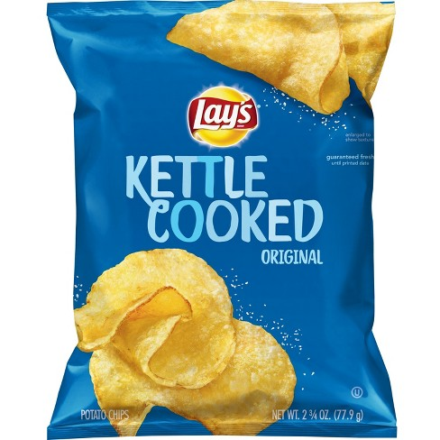 Lay's Kettle Cooked Original Potato Chips - 2.75oz - image 1 of 2