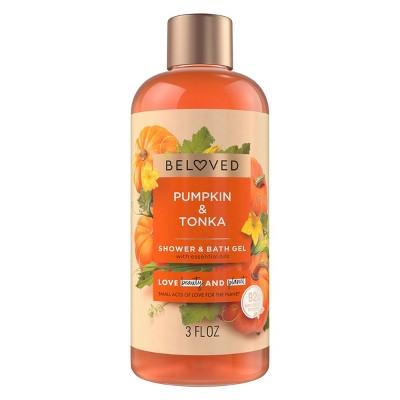 Beloved Pumpkin & Tonka Mini Shower Gels - 3 fl oz
