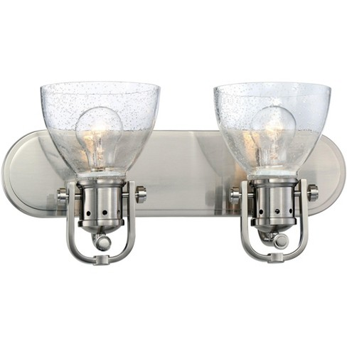 Minka Lavery 3412-84 2 Light Vanity Light from the Seeded Bath Art Collection - image 1 of 1