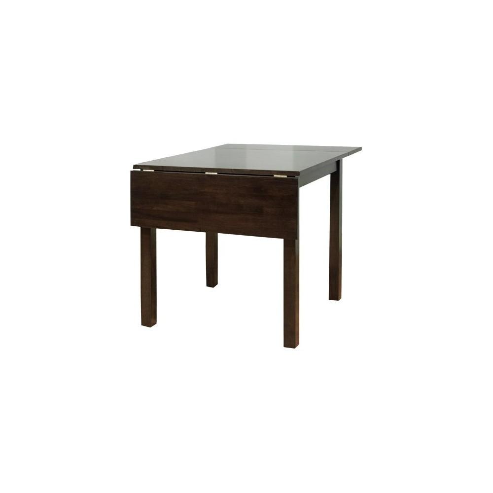 Austin Drop Leaf Dining Table Wood/Espresso (Brown) - Tms