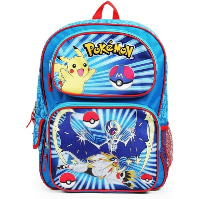 Fashion Accessory Bazaar LLC Pokemon Character Group Blue 16 Inch Backpack