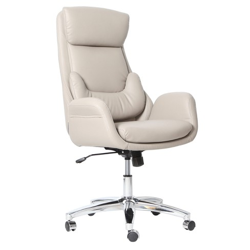 best ergonomic home office chair with lumbar support beige techni mobili target. Black Bedroom Furniture Sets. Home Design Ideas